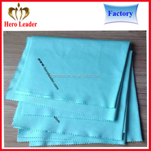 Ultra soft wearable eyeglasses printed microfiber cleaning cloth for lens