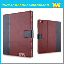 2015 Business Style Pu Leather Case for ipad 2 3 4 with a Stand