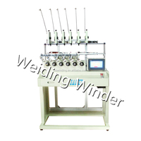 WDG-06 LOW VOLTAGE transformer coil winding machine with automatic spool wire pay off device
