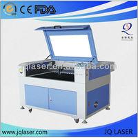 chipboard/paper small size laser cutting machine/laser cutter hot model JQ9060
