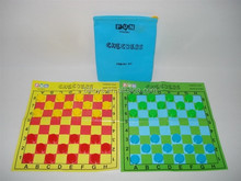 kids draughts game chekcers travel&home board game