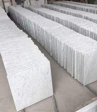 Carrara white marble project tile