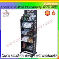 Manufactory e-juice floor display rack