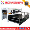XMQ-1050S automatic flatbed cardboard die cutting machinery with stripping