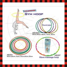 Plastic fitness wholesale gym yoga hula rhythmic gymnastics hoop