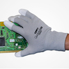 soft PU coated touch safety working glove