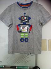 100% cotton embroidery children's T shirt