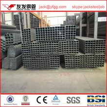Chia top ten selling products square section shape pre galvanized steel pipe