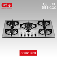 Wonderful kitchens appliances stoves gas/ 5 burner built in gas cookers/Made in China home appliances