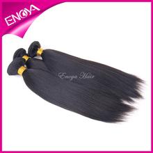 Fashion Yaki Natural Color Virgin Peruvian Human Hair Weave Wholesale