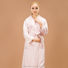 double layer microfiber bathrobe / sex products for women