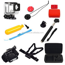 8-in-1gopros accessories set for Go Pro Heros 4, gopros dome , waterproof for gopros ,4 / 3+/ 3 / 2 / 1