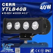 Y&T Factory price 40W Flash 4wd Led Light Bar, Strobe Flash Led Light Bar 40W, auto parts LED light bar for Maruti, Suzuki