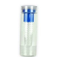 Assorted Color Tritan fruit infuser water bottle plastic bottle water bottle factory directly