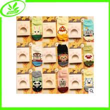 Wholesale kids cute sock short cotton animal socks