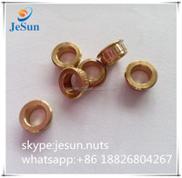 China hardware supplier manufature brass round nut