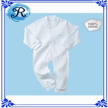 Atacado em branco de algodão orgânico importação roupa do bebê da china fábrica de macacão de bebê recém-nascido roupas