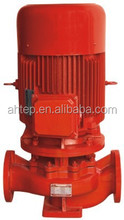 Red Fire Control Area Water Medium Vertical Singel Stage Fire Pump