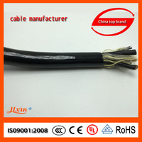 PUR control cable and wire robotic cable