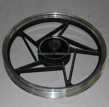 SCL-2012030598 Motorcycle Aluminum steel wheels rim for suzuki gn125 motorcycle