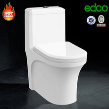Popular ! dual hole siphonic flush one-piece toilet China sanitary ware supplier