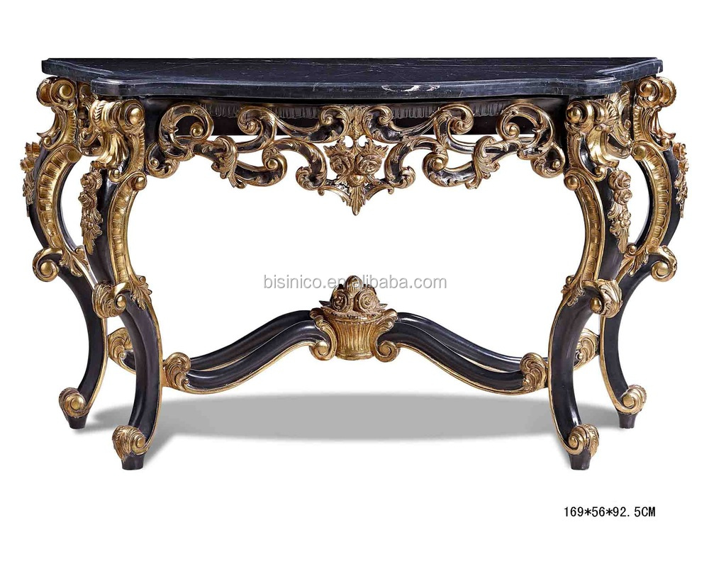 Luxury Foyer Table : Antique luxury console table hall foyer