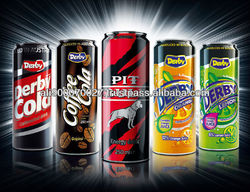 Carbonated Drinks Derby 250ml CAN