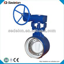 2015 Best Wafer Connection Butterfly Valve