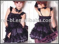 Mini Fluffy Skirt Gothic Punk