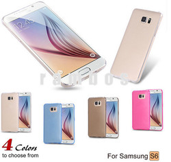 Wholesale TPU Ultra Thin 0.3mm Case Crystal Clear Slim Soft Transparent Back Cover for Samsung Galaxy S6