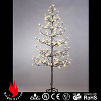 UNIQUE Party Decoration spiral rope light christmas tree
