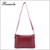 2015 Promotional wholesale custom ladies messenger pu leather bag mini cross body bags with factory price
