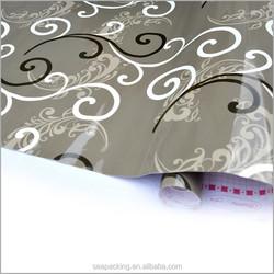 waterproof wood grain pvc decorative foil private label custom shoes