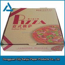 Perfect designed corrugated pizza box