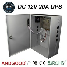 With Relay Alarm Uninterruptable Power Supply Highly Active DC 12V 20A