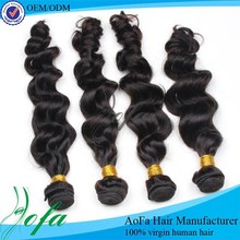 Unprocessed natural color body wave indian women hair wig, cheap indian remy human hair