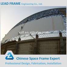 galvanizado luz de acero estructura de cúpula de carbón para la planta de energía