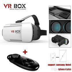 VR-BOX Head Mount Plastic Version 3d VR Virtual Reality Glasses Google Cardboard 3D + Bluetooth Control Gamepad