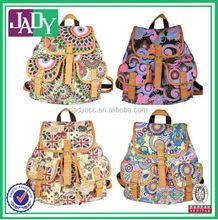 Leisure Travel Canvas Backpacks School Bags Wholesale Bags