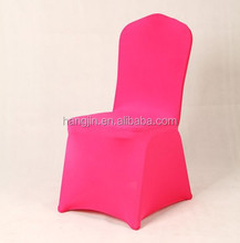 nylon chair cover/home dining room chair seat cover/lycra wedding chair cover