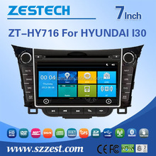 for hyundai i30 car dvd gps navigation system with bluetooth GPS navigation SD USB phonebook CD player HD camera video 1080p