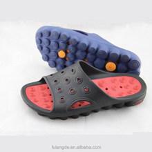 comfortable and soft men eva Double color garden shoes