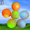 Multi Color Golf Ball with Battery&LED Inside