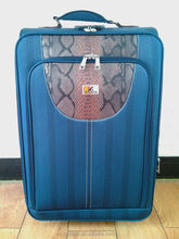 Classical built-in caster eminent EVA trolley bag travel luggage