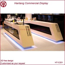 made in china beauty mall cosmetic display furniture for sale with led lights