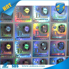 anti-counterfeiting genuine customized 3d laser hologram