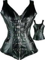 woman leather corset adult sex leather lingerie