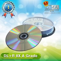 china wholesale factory A grade blank dvd 8.5gb