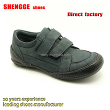 high quality and cheap price comfortable kids leather casual shoes