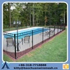 2015 new desigh cheap wrought Iron pool fence, swimming pool fence, steel fence